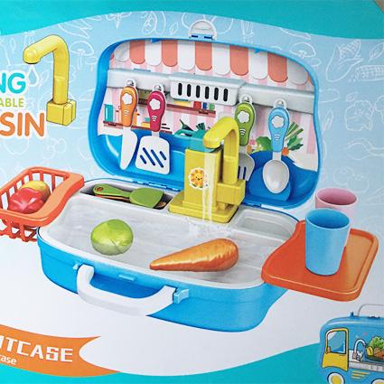 سینک ظرفشویی چمدانی